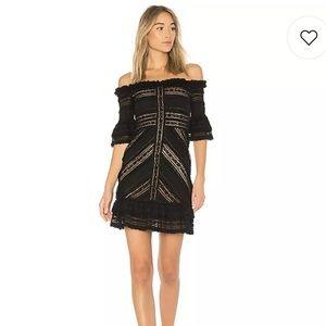 Cinq a Sept Naya Mini Dress 0
